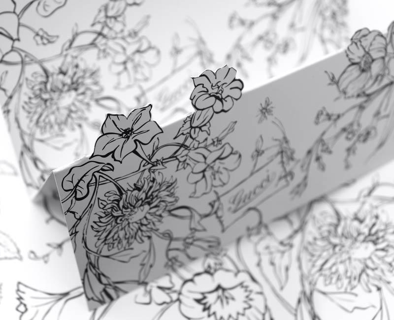 Bandeau-Gucci-plaquette-invitation-luxe