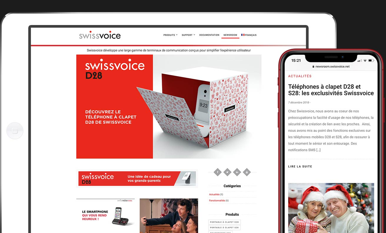 Site-SwissVoice-agence-web-creation-site-internet