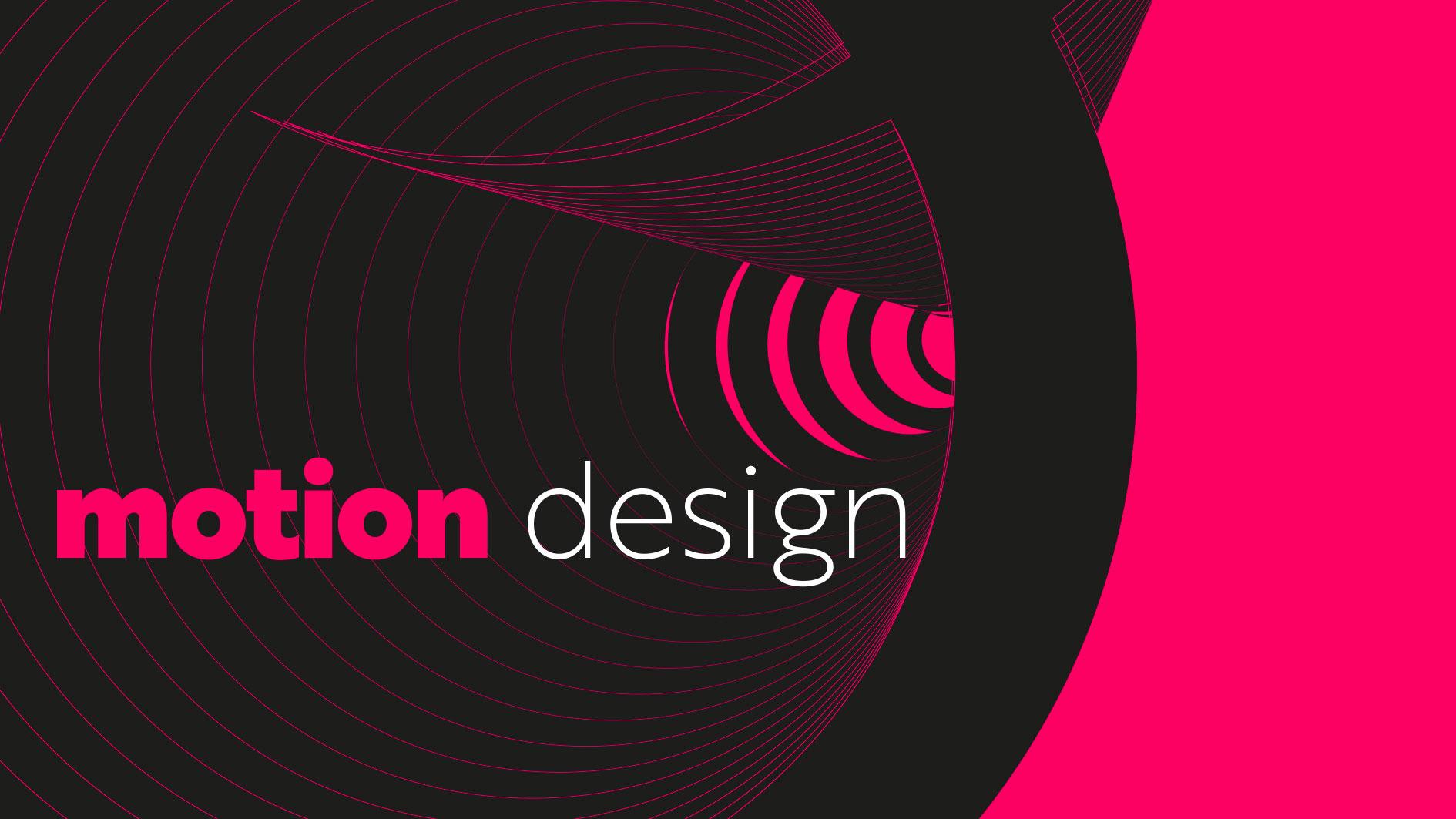 Motion design visuel créatif