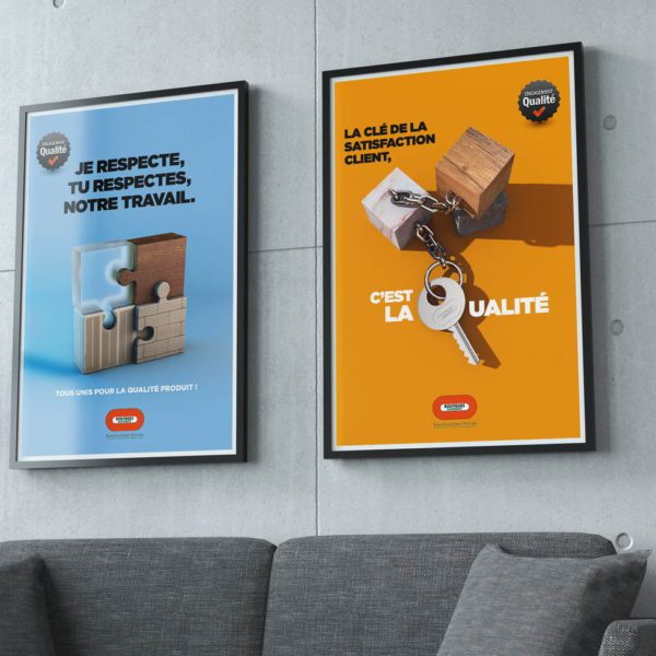 Campagne communication Bouygues Batiment Construction Privée
