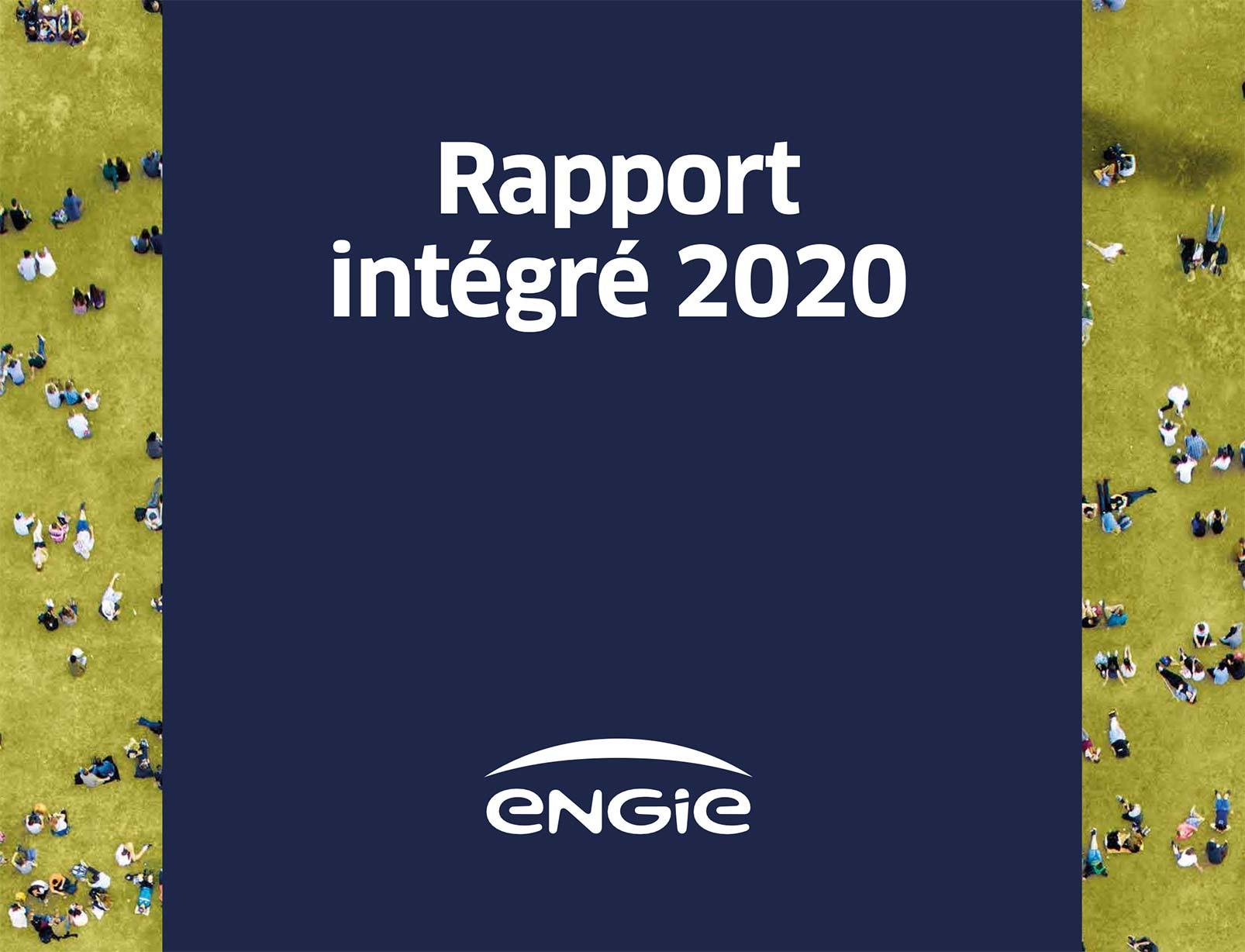 Rapport intégré Engie 2020